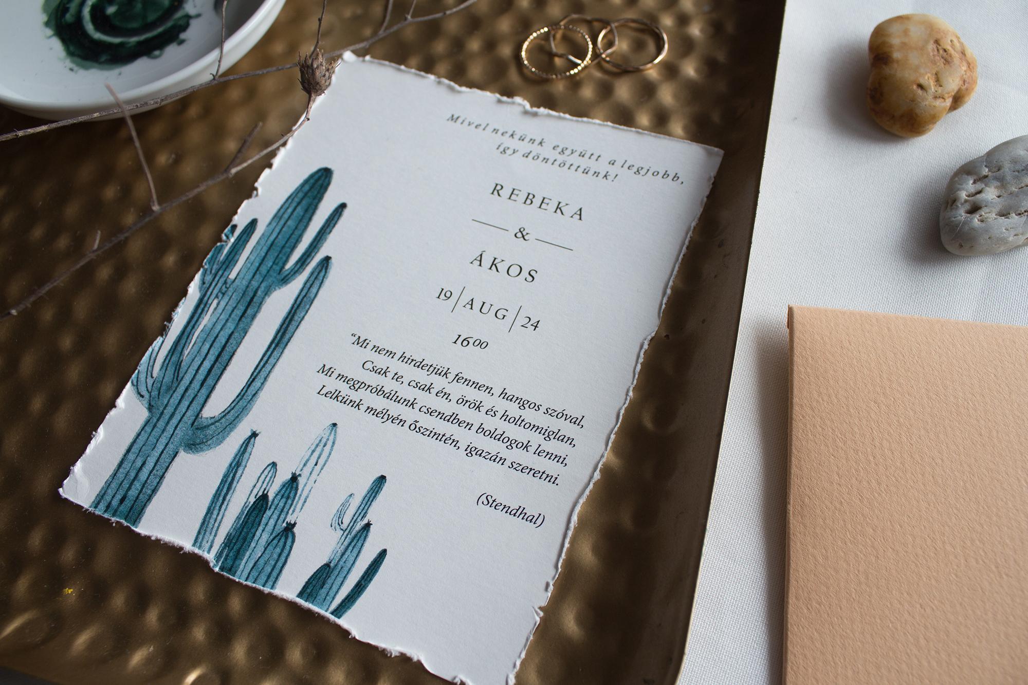 nyári esküvői meghívók