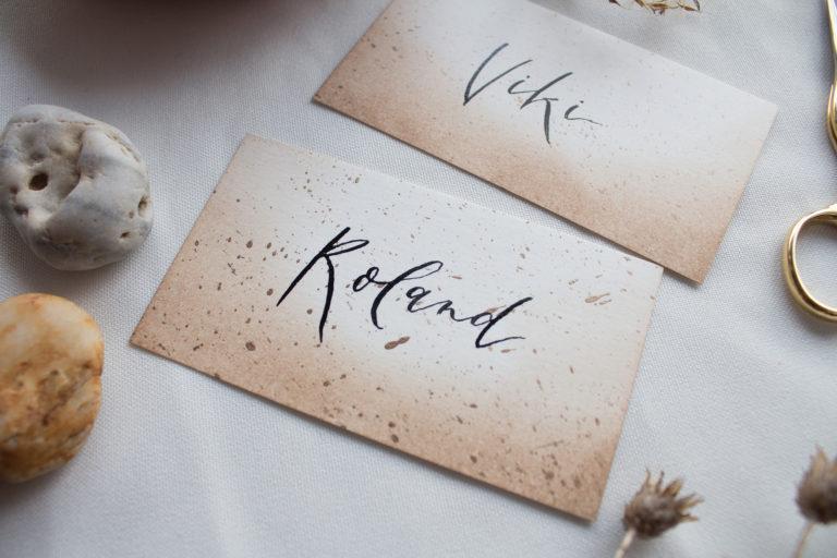 névre esküvői ültető