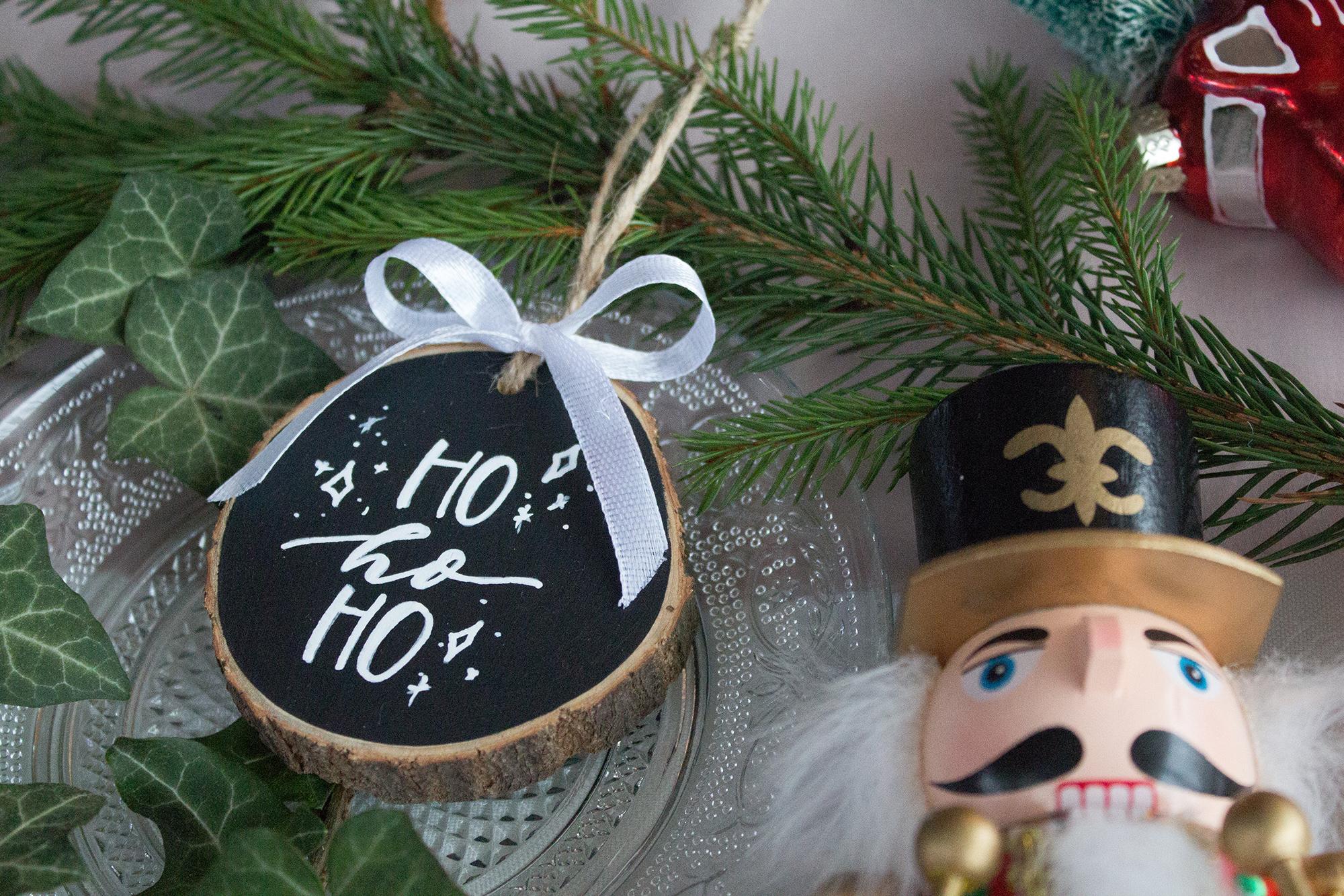 ho-ho-ho karácsonyfadísz